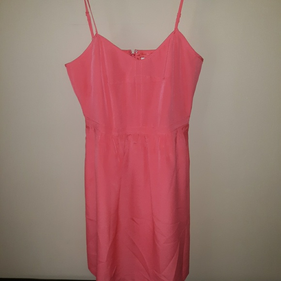 J. Crew Factory Dresses & Skirts - NWT J. Crew coral color dress with pockets.